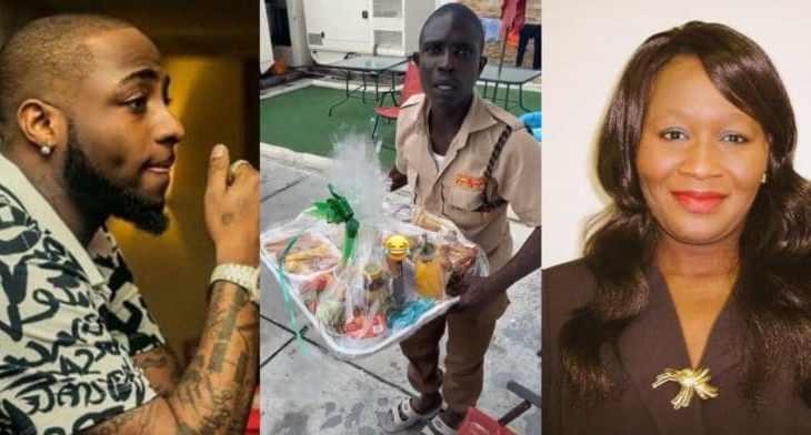 Kemi Olunloyo blasts Davido for allegedly feeding his gateman with leftover food