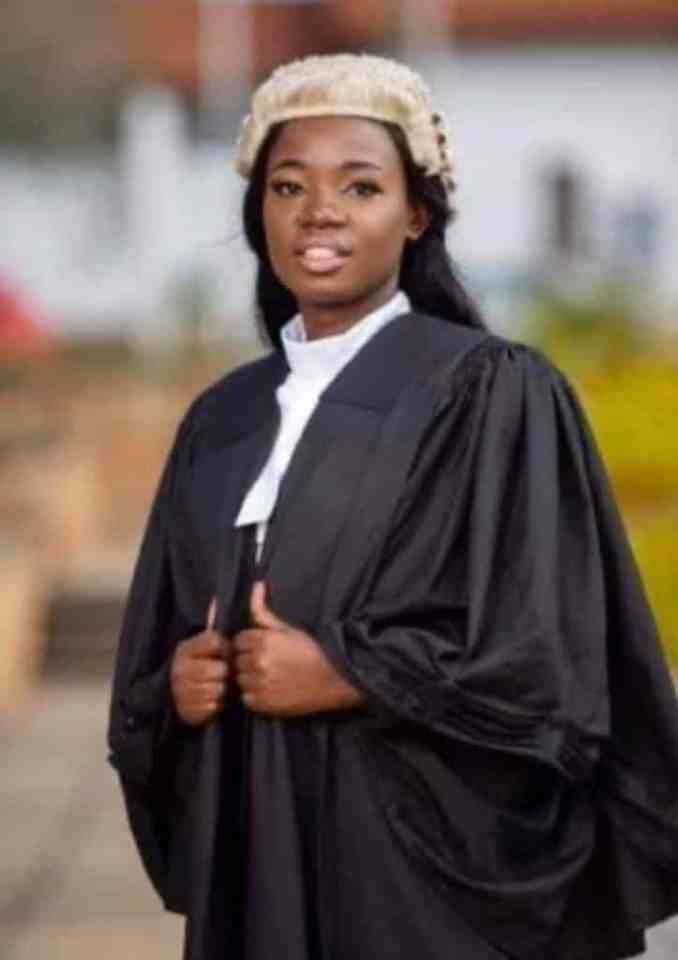 Meet Elizabeth Owusua, the lady who works as a lawyer by day and a nurse at night (Photos)