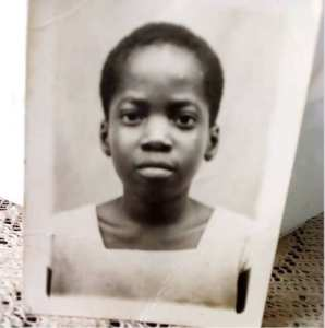Nollywood Actress Toyin Abraham shares adorable throwback photo of self
