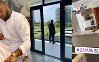 Davido shows off his multimillion naira mansion in banana island (Video)