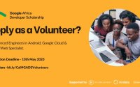 Volunteer to be a Google Africa Developer Scholarship Mentor 2020