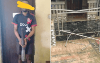 Man arrested for killing his children with wooden pestle in Anambra