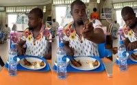 Man vows not to pay for food after eating at a restaurant, says the fish was not prepared that day (Video)