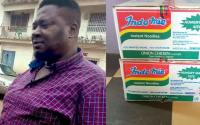Nigerians blast man for returning N1.8million found inside carton of indomie he bought