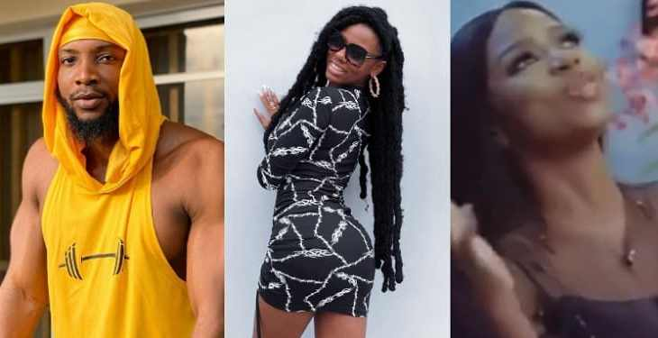"""Big brother see what you caused"" – Diane reacts as Tuoyo says she is not his spec in physical appearance (Video) 2"