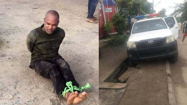 Nigeria police officer shoots his fellow police officers in Lagos, killing some (photos)