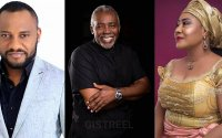 Yul Edochie and Ngozi Ezeonu celebrate Olu Jacobs, say he's one of the greatest actors in Africa