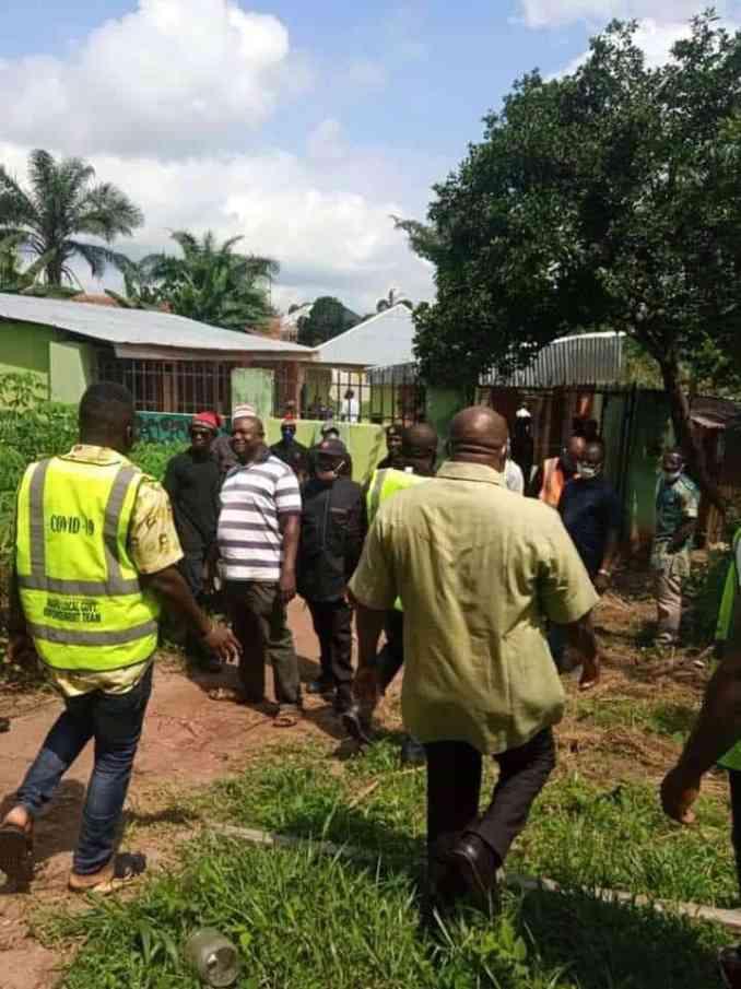 Church Of Satan demolished in Abia, police arrest founder (photos)
