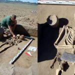 Drama as Archaeologists discover 2,100-year-old skeleton buried with an 'iPhone' (Photos) 20