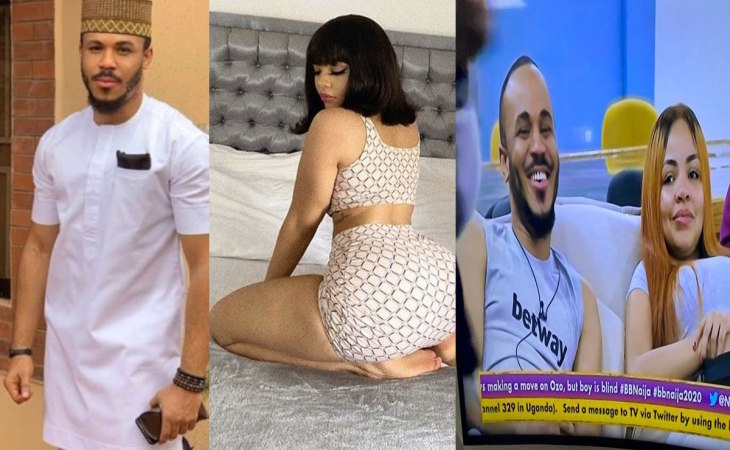 BBNaija: Moment Nengi Flaunted Her HEAVY Backside In Front Of Ozo Just To Catch His Attention (VIDEO) 1