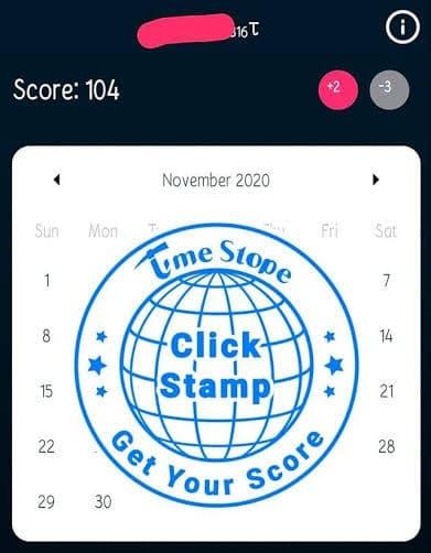 TimeStope witness ID - TimeStope Attendance