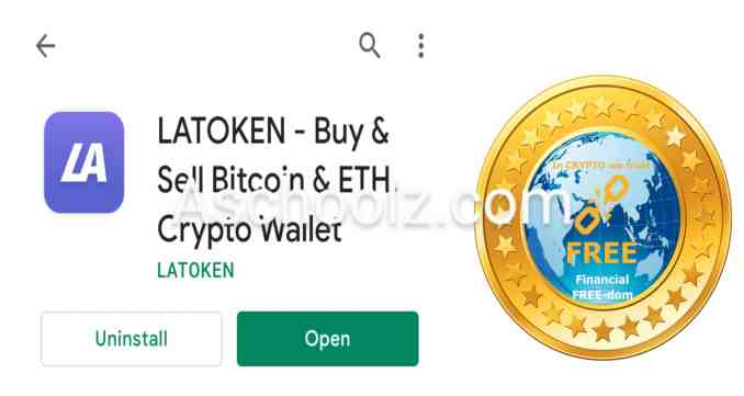 Steps by step to buy freecoin on Latoken