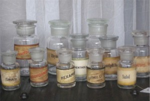 Old Apothecary Bottles