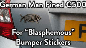 German-Blasphemous-Bumper-Sticker