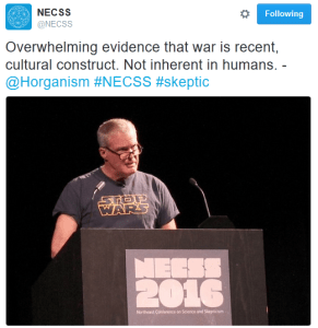 Horgan speaking at NECSS