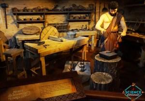 Ark Encounter Noah the Blacksmith