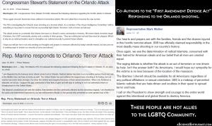 First Amendment Defense Act #FADA Orlando Shooting Responses