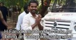 H Farook Indian Atheist murdered killed