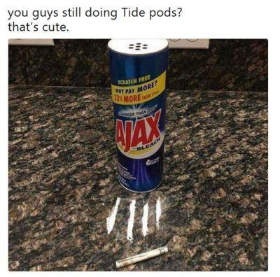 tide pod challenge meme