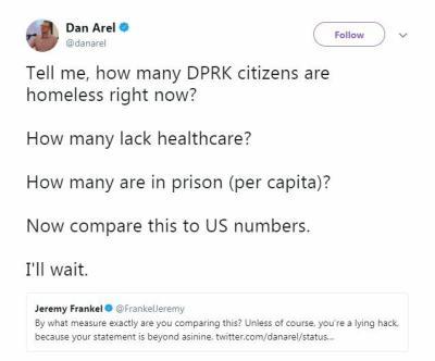 Dan Arel Tweet Twitter