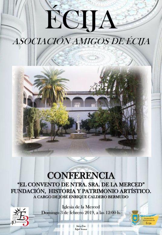 CARTEL AMIGOS DE ECIJA convento de la merced3333 (1)