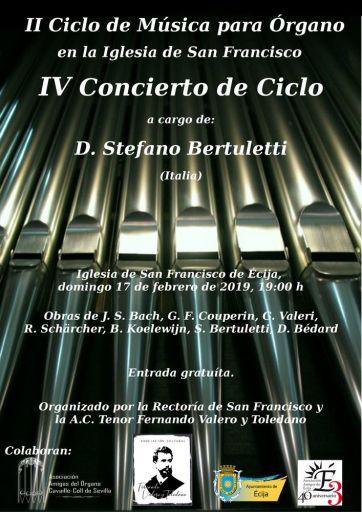 4º concierto 2º ciclo órgano