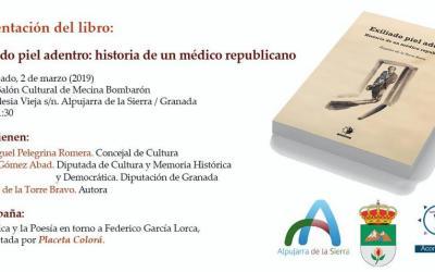 """PRESENTACIÓN DEL LIBRO """"EXILIADO PIEL ADENTRO. LA HISTORIA DE UN MÉDICO REPUBLICANO"""""""