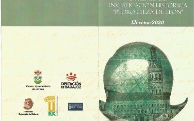 CONVOCATORIA DEL II DE PREMIO DE INVESTIGACIÓN HISTÓRICA «PEDRO CIEZA DE LEÓN»