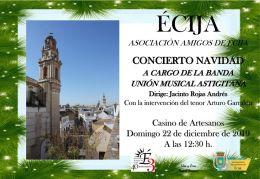 AMIGOS DE ECIJA concierto NAVIDAD