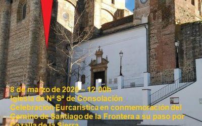 8 DE MARZO DE 2020 – CELEBRACION EUCARISTICA EN CAZALLA DE LA SIERRA