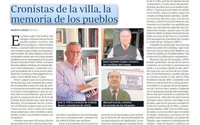CRONISTAS DE LA VILLA, «LA MEMORIA» DE LOS PUEBLOS DE LA PROVINCIA DE SEVILLA