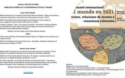SEMINARIO INTERNACIONAL. EL MUNDO EN 1621: AVISOS, RELACIONES Y CONEXIONES CULTURALES