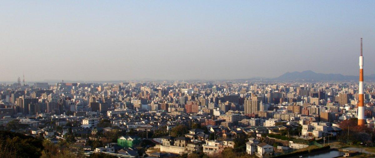Fukuoka_Viewed_From_Minamiku_Observation_Deck
