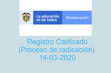 Registro Calificado (Orientaciones Marzo 2020)