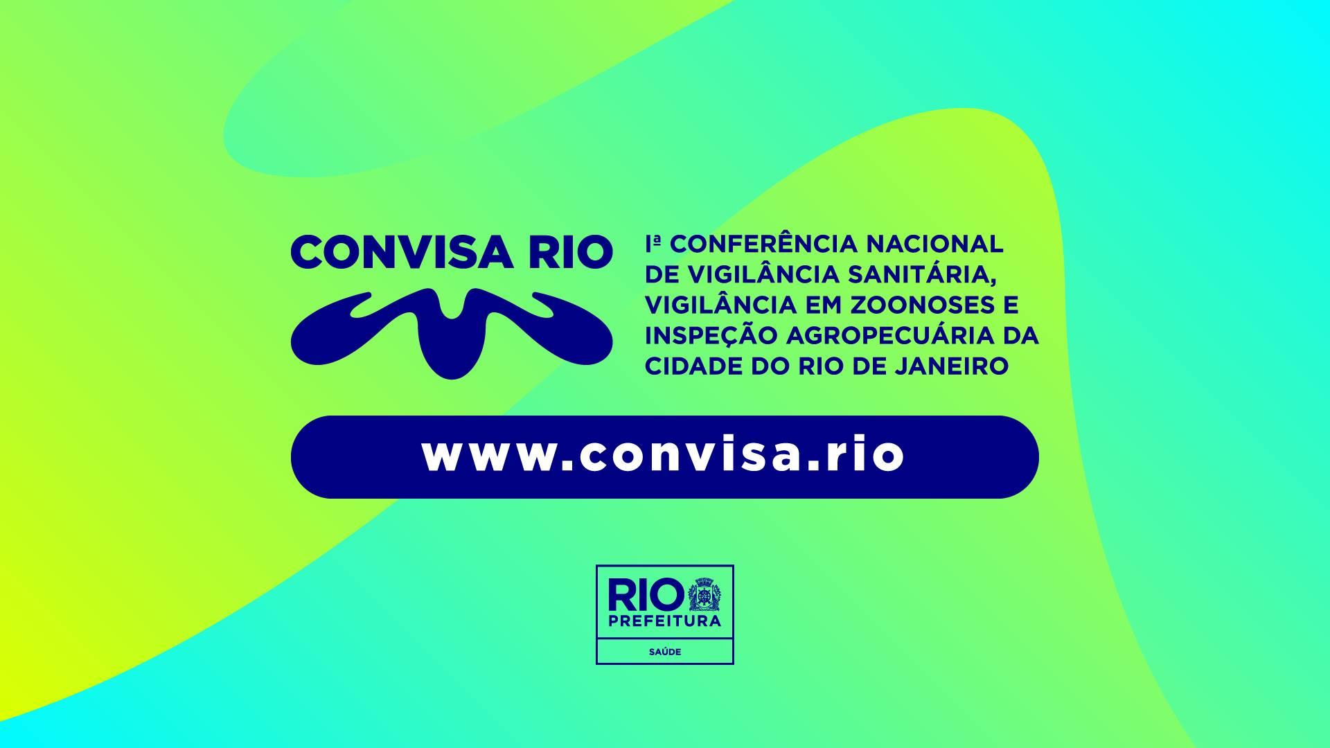 1ª Conferência da Vigilância Sanitária - Convisa Rio, acontece em agosto