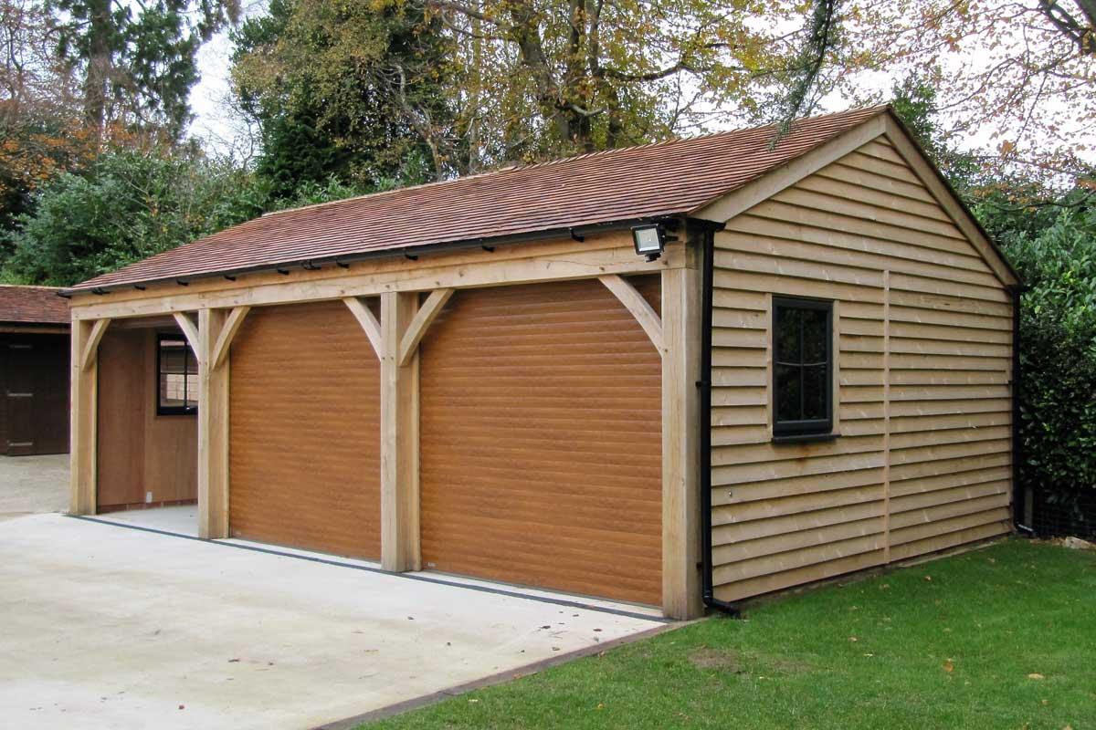 Three Bay Carport Ascot Timber Buildings
