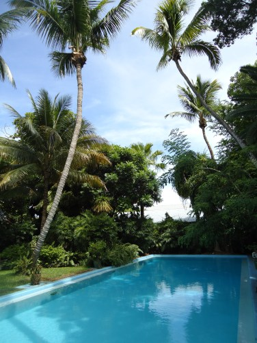 The pool at Hemingway House