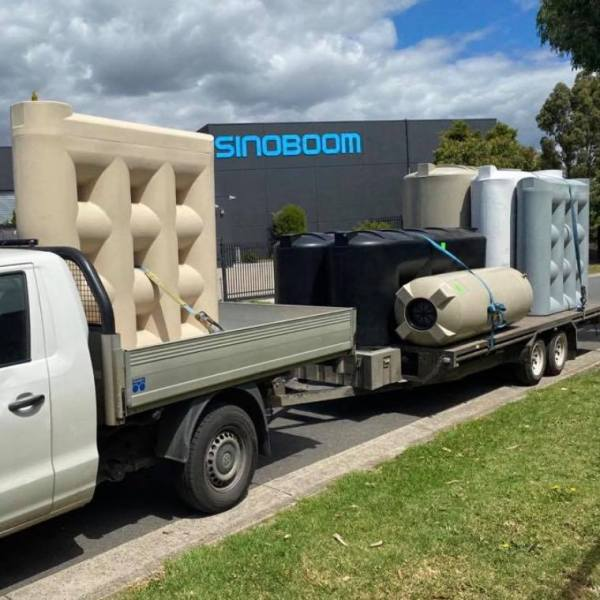 1000 litre slimline water tank ready for delivery Melbourne