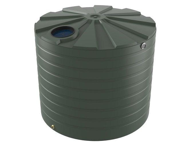 10000 LT Bushmans Round Rain Water Tank
