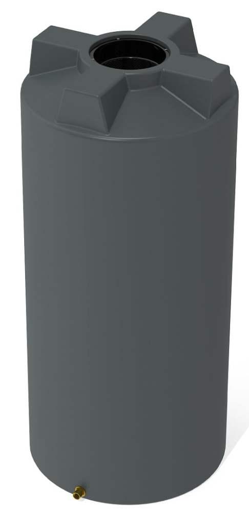 1050 LT Pro Plastics Round Rain Water Tank