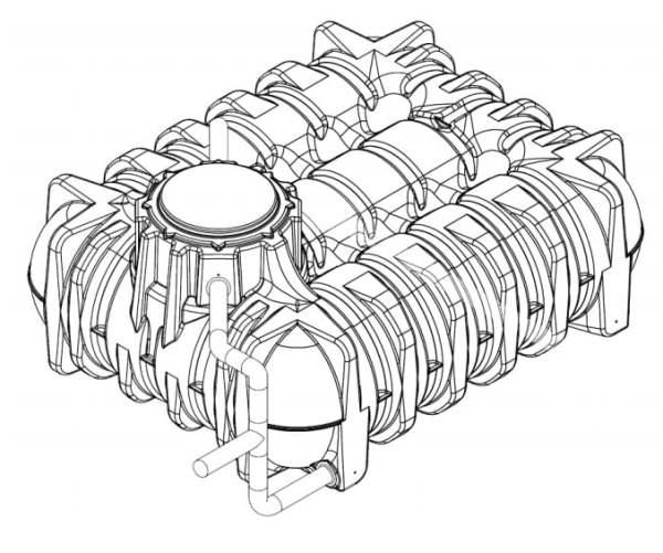 Detention Underground Water tank