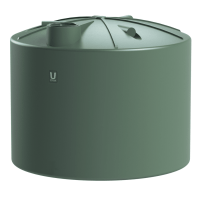 Urban Poly 10,000 Litre Round Water Tank