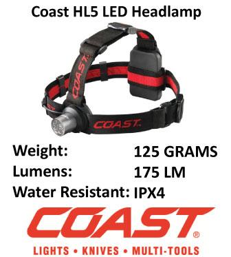 LED Headlamp - Coast