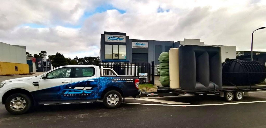 Water Tanks Melbourne, Delivered Water Tanks by ASC Water Tanks