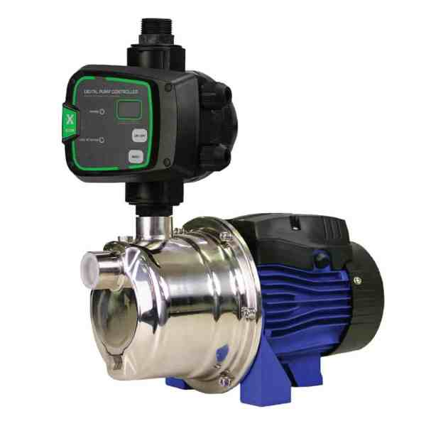 BIA-INOX60S2NXT - Stainless Steel Surface Mount Pump with nXt Controller 45m 0.6kW 240V