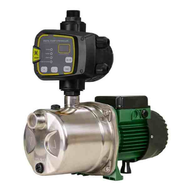 DAB-JINOX102NXTP - Stainless Steel Self Priming Jet Pump with nXt PRO Pump Controller 53.8m 0.75kW