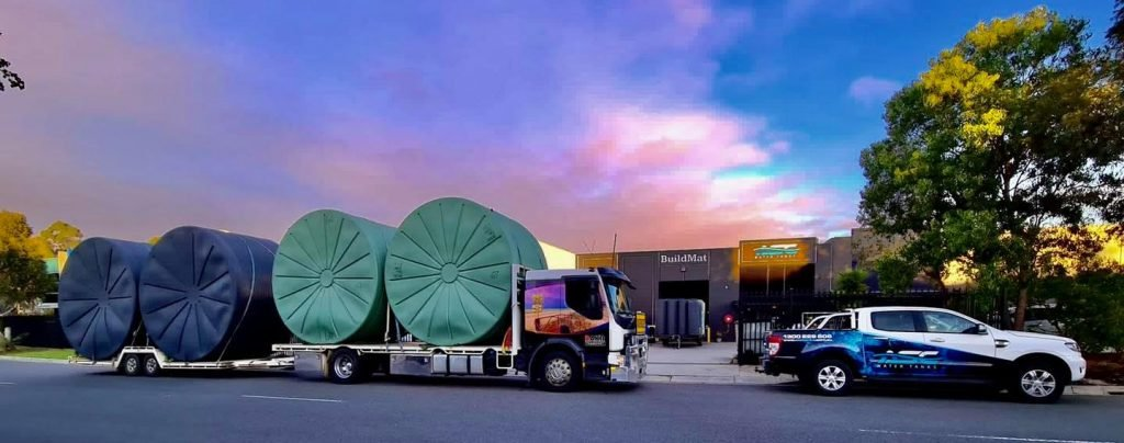 ASC Water Tansks Round Water Tanks Melbourne Delivery