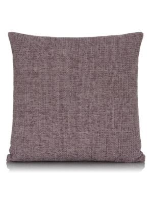 George Home Chenille Cushion 40x40cm - Mauve