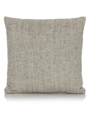 George Home Grey Chenille Cushion 50x50cm