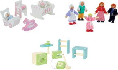 George Home Small Dolls House Furniture Set Bundle